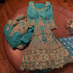 Vintage Lehenga with accessories